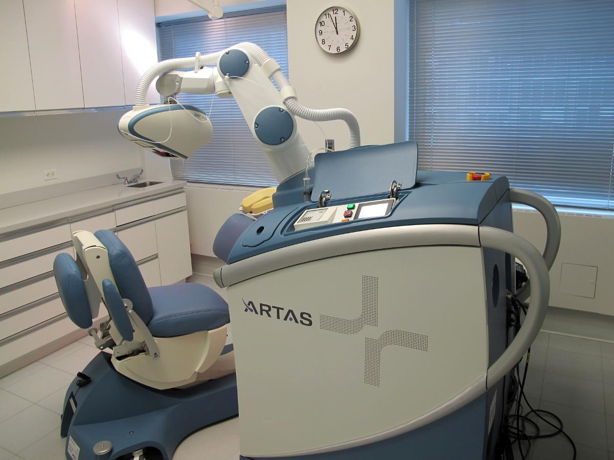 Robot ARTAS de transplante de cabello