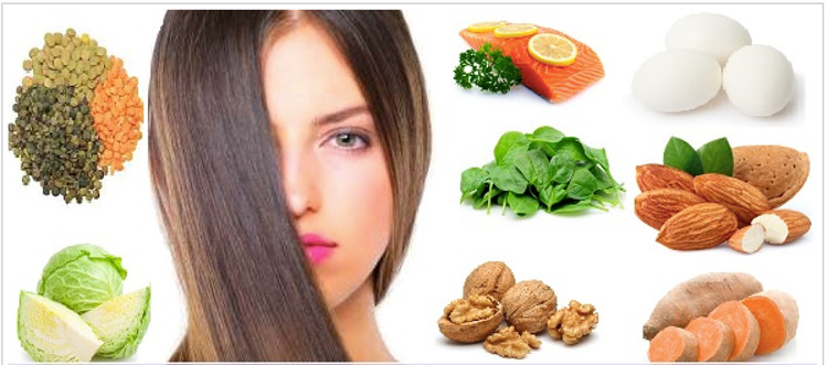 Alimentos para la caida de cabello